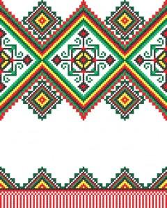 Украинские вышивки - 9