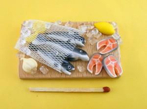 Мини-еда для кукол из полимерной глины 14