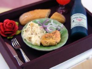 Мини-еда для кукол из полимерной глины 15