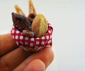 Мини-еда для кукол из полимерной глины 18
