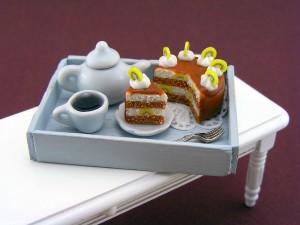 Мини-еда для кукол из полимерной глины 19