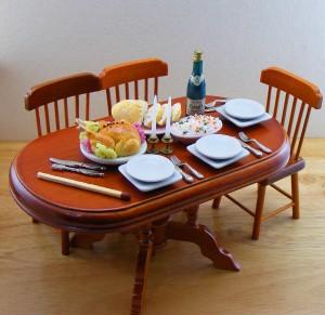 Мини-еда для кукол из полимерной глины 21