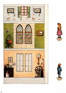 Пример страницы кукольного домика