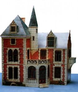 Обложка кукольного домика