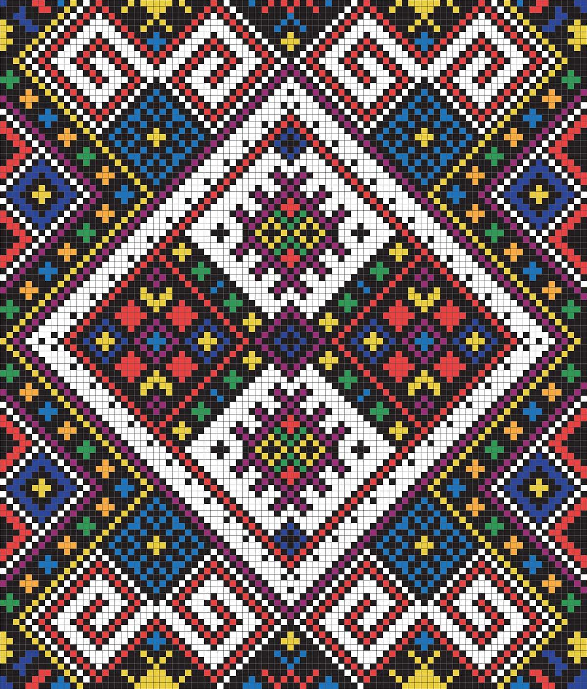 Орнамент украинской вышивки